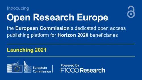 """ЄК запустила платформу Open Research Europe для оприлюднення результатів досліджень, виконаних у межах програм """"Горизонт 2020"""" і """"Горизонт Європа"""""""